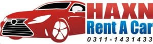 Haxn Rent a car in islamabad